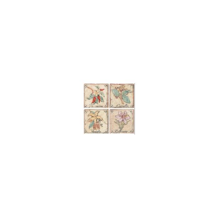 Текстура плитки Castelli Formella Spezie 4 sogg. 10x10