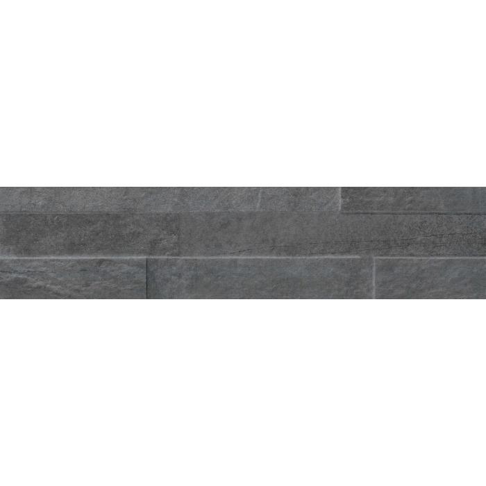 Текстура плитки StoneOne Dark Muretto 3D 10.5x45