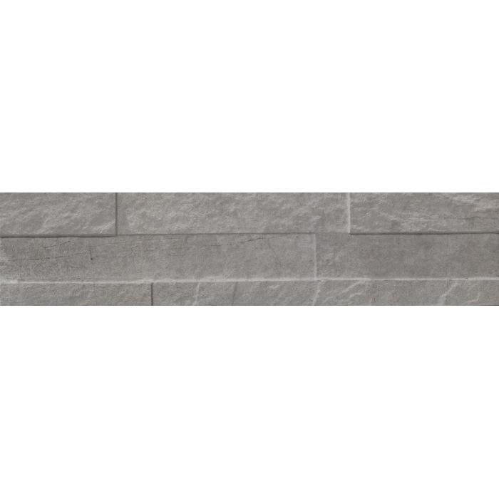 Текстура плитки StoneOne Silver Muretto 3D 10.5x45