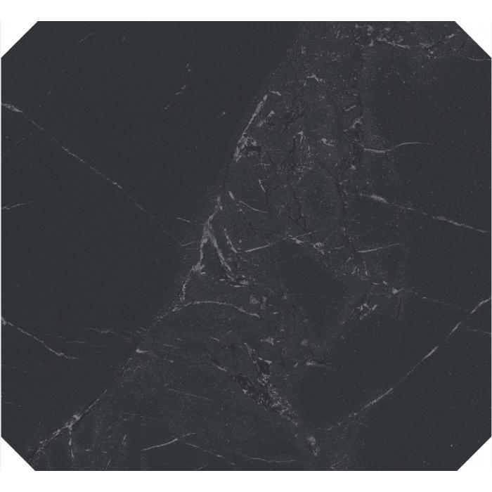 Текстура плитки Newluxe Black Ottagona Reflex 60x60