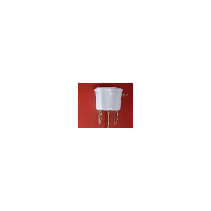 Фото сантехники Impero Бачок подвесной, для высокой трубы, белая керамика