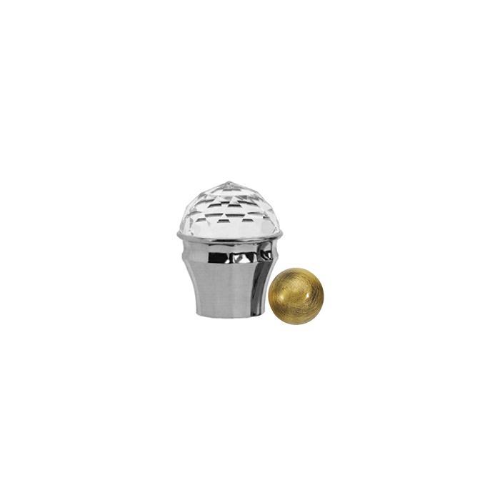 Фото сантехники Cristalia Ручка для смесителя, цвет бронза
