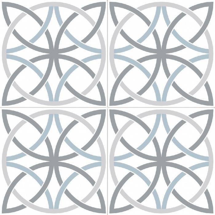 Текстура плитки Bosham White 45x45 - 2