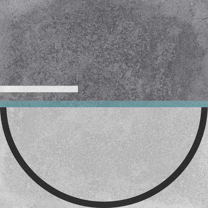 Текстура плитки Buho Grey Decor 22.3x22.3