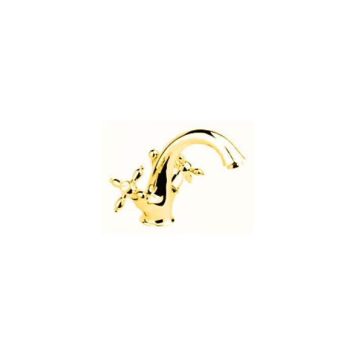 Фото сантехники Prestige Смеситель для раковины золото
