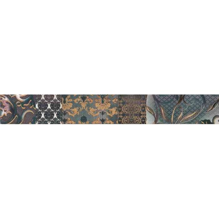 Текстура плитки Shine Turchese Batik List A 8x59