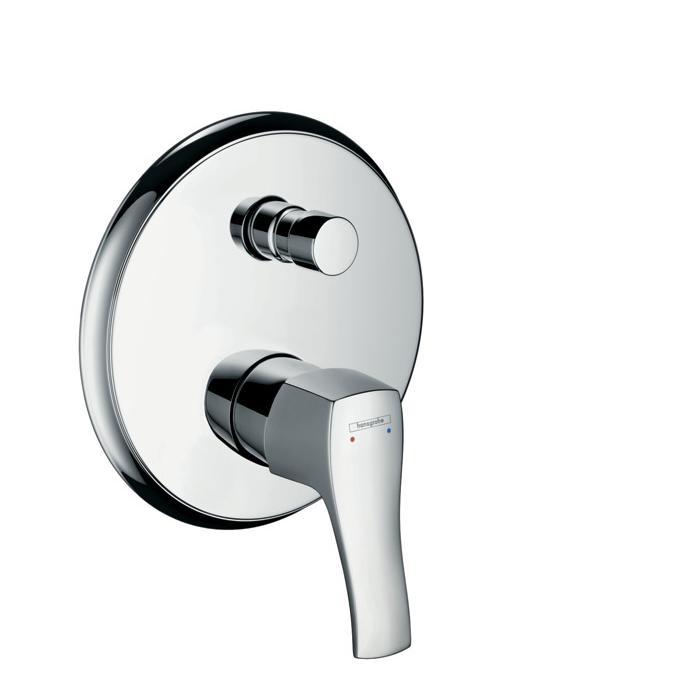 Фото сантехники Metris Classic Смеситель для ванны/душа, цвет хром