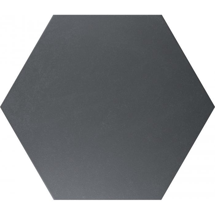 Текстура плитки Alchimia Esagono Nero 26.6x23