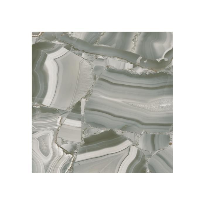 Текстура плитки Astra Turchese Fiorio Lap.Ret. 58х58