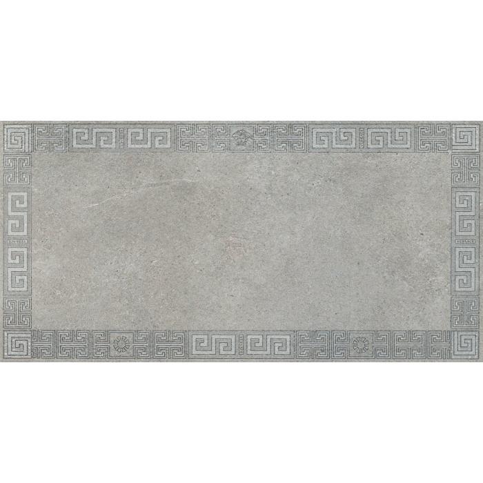 Текстура плитки Greek Cassettone Grigio Rett 40x80