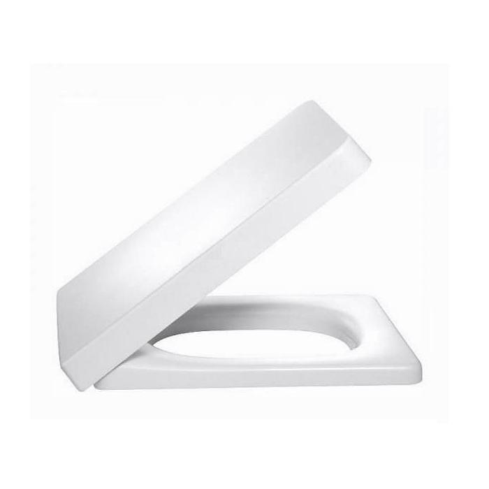 Фото сантехники TERRACE Крышка для унитаза с микролифтом, цвет белый, был арт E4900-00