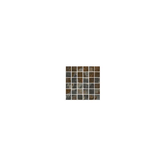 Текстура плитки NuSlate Mosaico Rajah Nat (4,8x4,8) 30,2x30,2