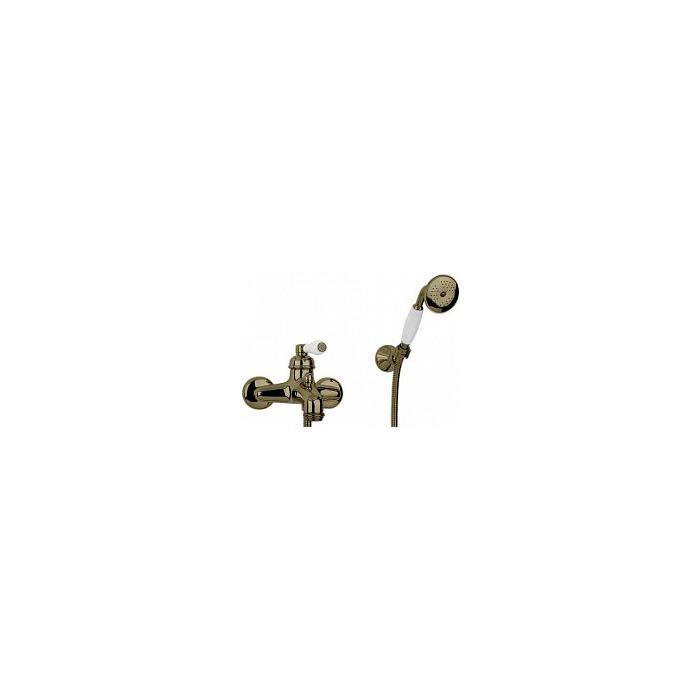 Фото сантехники Ermitage Cмеситель для ванны внешний, монокомандный, цвет бронза