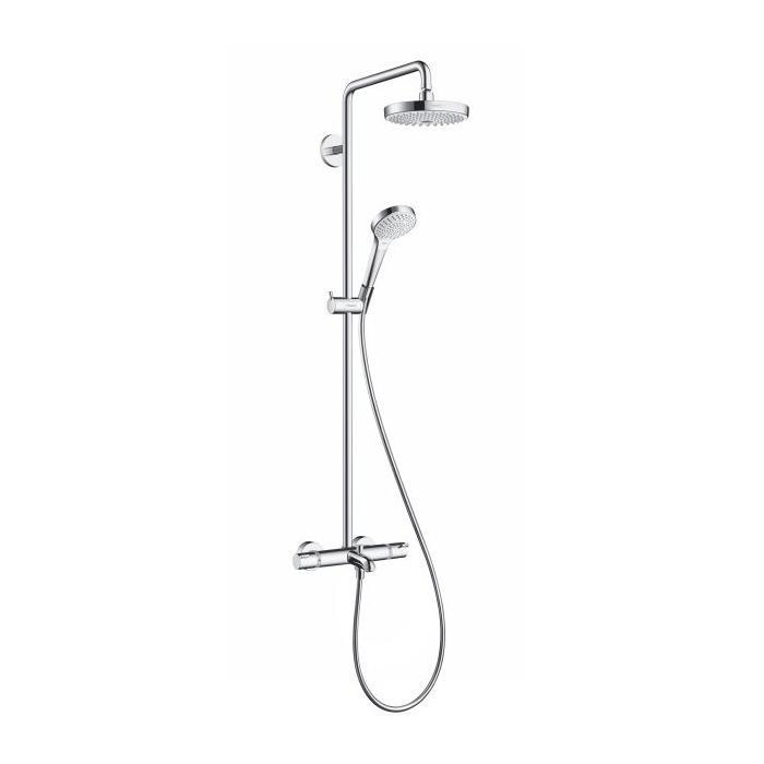 Фото сантехники Croma Select E Душевая система для ванны 180* 2 jet, белый/хром