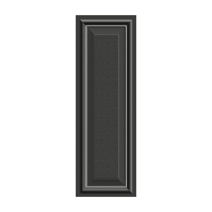Текстура плитки Park Avenue Platinum su Black 24х72