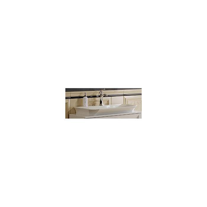Фото сантехники LaDonna Умывальник 46 х 70 х 8,5 см, для тумбы, цвет белый глянец