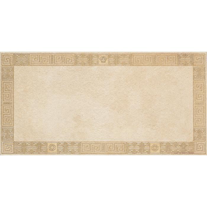 Текстура плитки Greek Cassetone Beige/Oro Rett 40x80 - 2