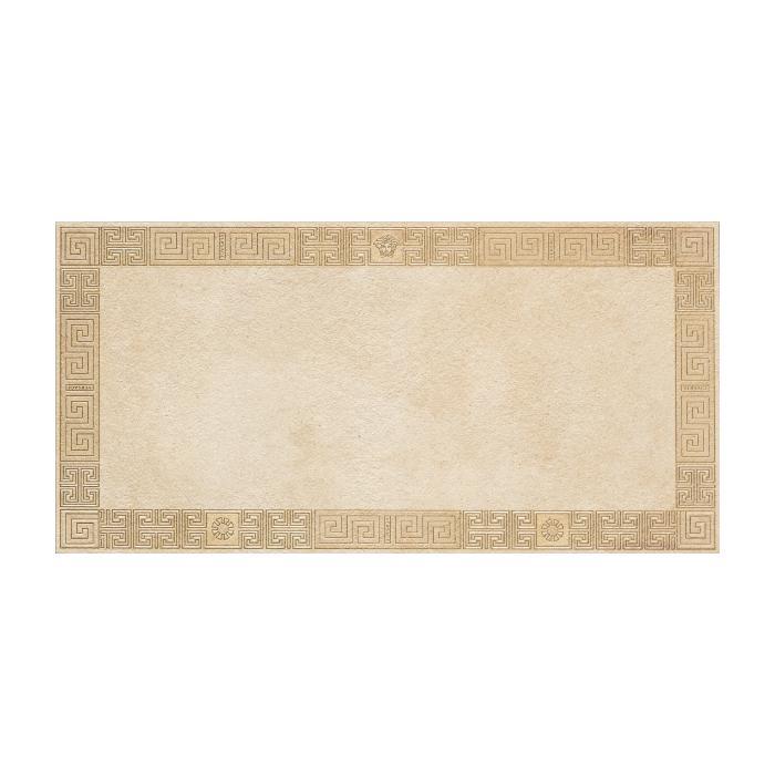 Текстура плитки Greek Cassetone Beige/Oro Rett 40x80
