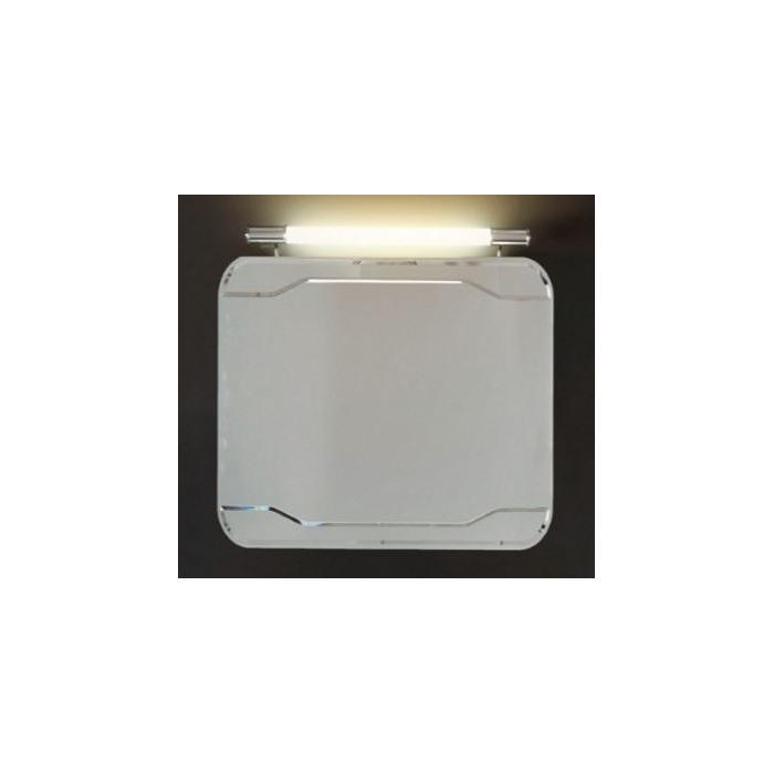Фото сантехники Waldorf Зеркало 80х70 см,подсвечиваемая рама с выключателем - 2