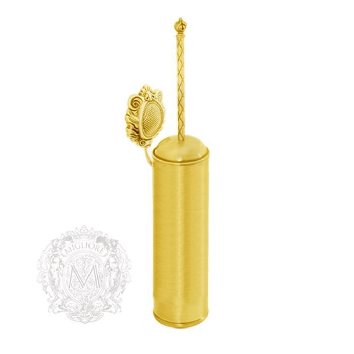 Фото сантехники Cleopatra Ершик настенный, металл, золото