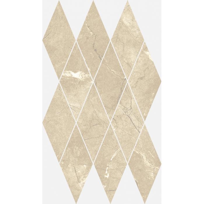 Текстура плитки Шарм Экстра Аркадиа Мозаика Даймонд Люкс 28x48 (0,085м2/шт)