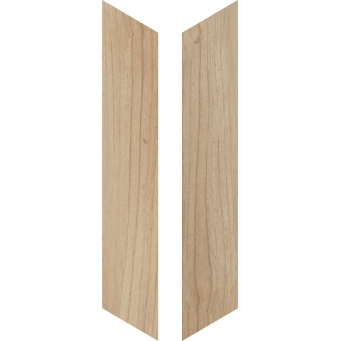 Текстура плитки Woodie Beige Chevron 7,5x40,7