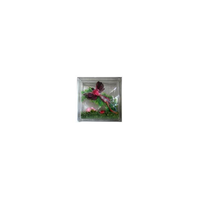 Картинка товара Стеклоблок Эксклюзивный Различная Тематика РТ 019Б Бесцветный 19х19