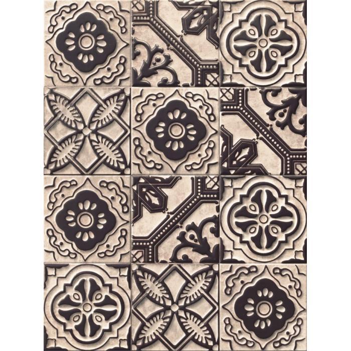 Текстура плитки Relief Titanium 20x20