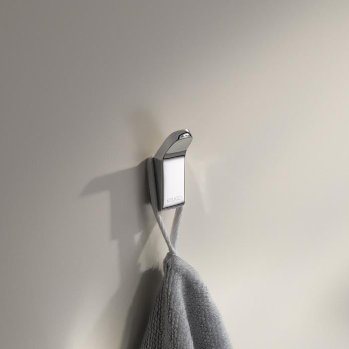 Фото сантехники Крючок для полотенца, цвет хром