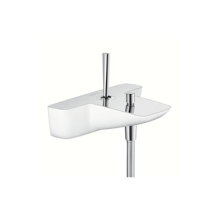 Фото сантехники Pura Vida Смеситель для ванны, цвет белый/хром