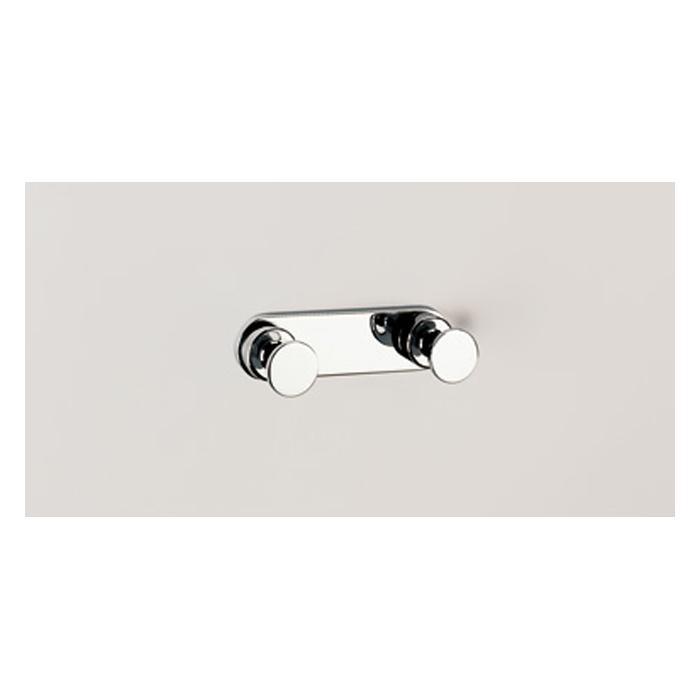 Фото сантехники Tecno Project Двойной крючок, цвет хром