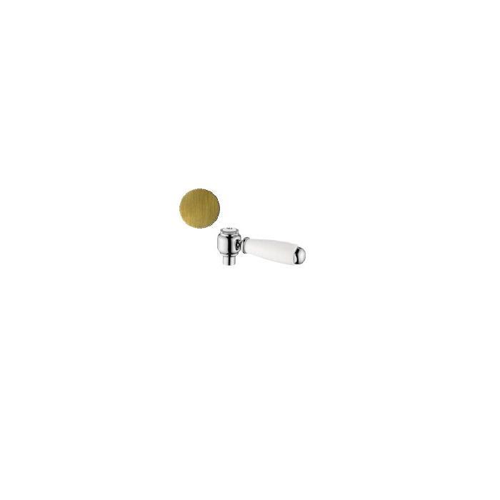 Фото сантехники Ricambi Ручка UNI для смесителя, белая, бронза