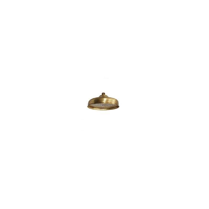 Фото сантехники Roma Верхний душ d-200 mm антикальций, цвет бронза