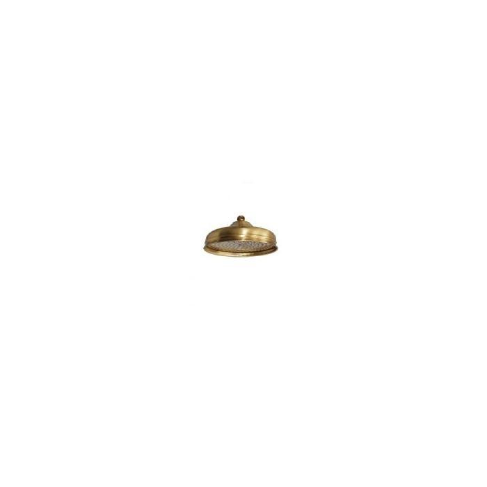 Фото сантехники Roma Верхний душ D300мм, антикальций, цвет бронза