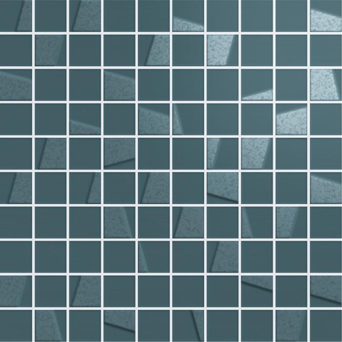 Текстура плитки Элeмент Петролио Мозаика 30,5x30,5