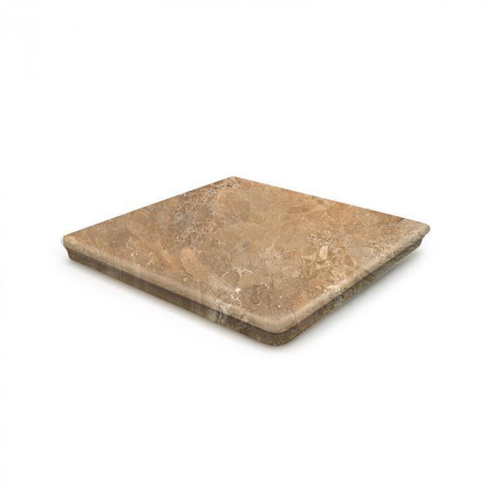 Текстура плитки Sea Rock Peldano Angular Florentino Toffee 33x33