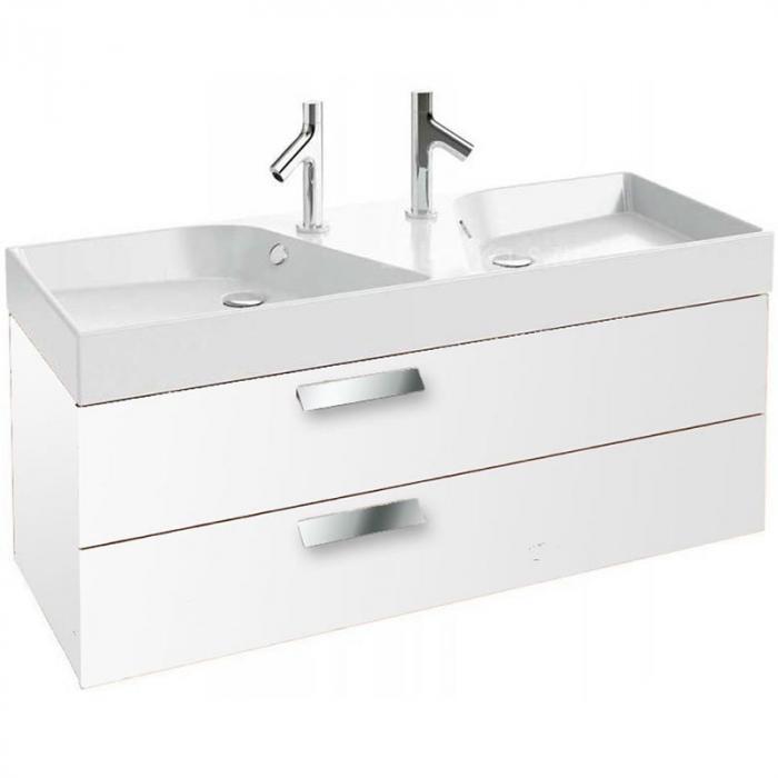 Фото сантехники Rythmik Мебель для раковин-столешниц, 119х45см, цвет белый