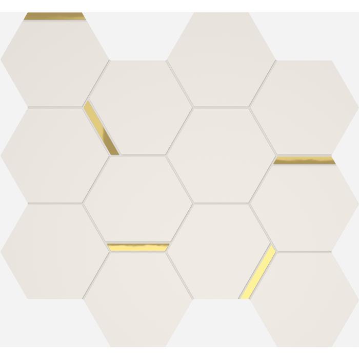 Текстура плитки 3Д Мозаика Шик 28.3x32.8