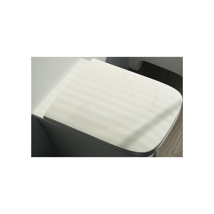 Фото сантехники Cow Сиденье для унитаза с микролифтом, цвет белый
