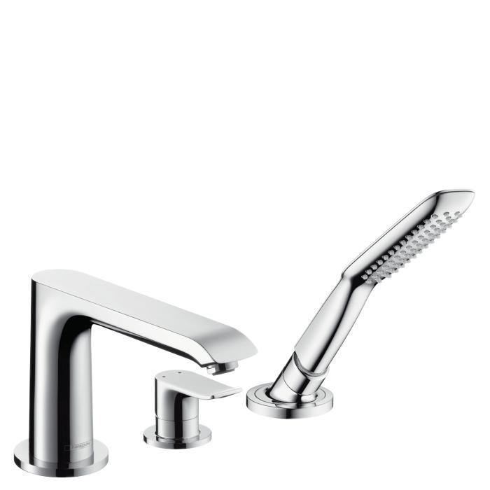 Фото сантехники Metris New Смеситель для ванны на 3 отв., цвет хром