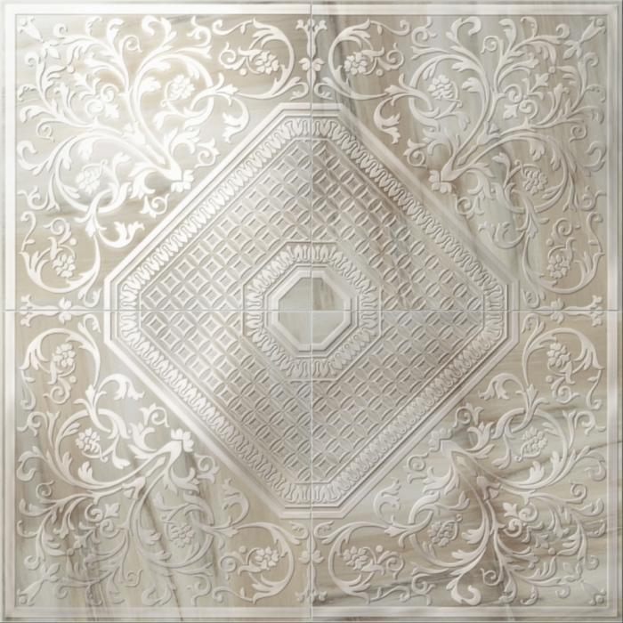 Текстура плитки Aethernity Comp. Rosone Brown 120x120