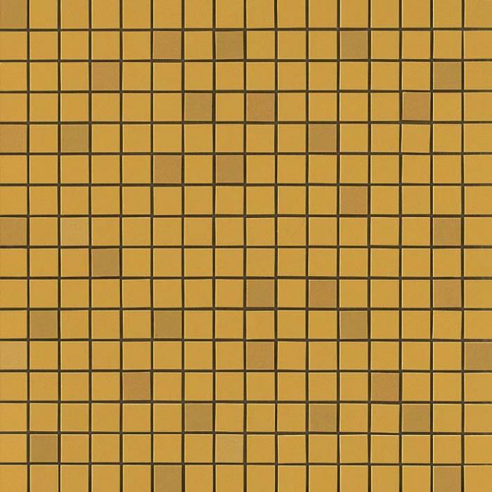 Текстура плитки Arkshade Yellow Mosaico Q 30,5х30,5