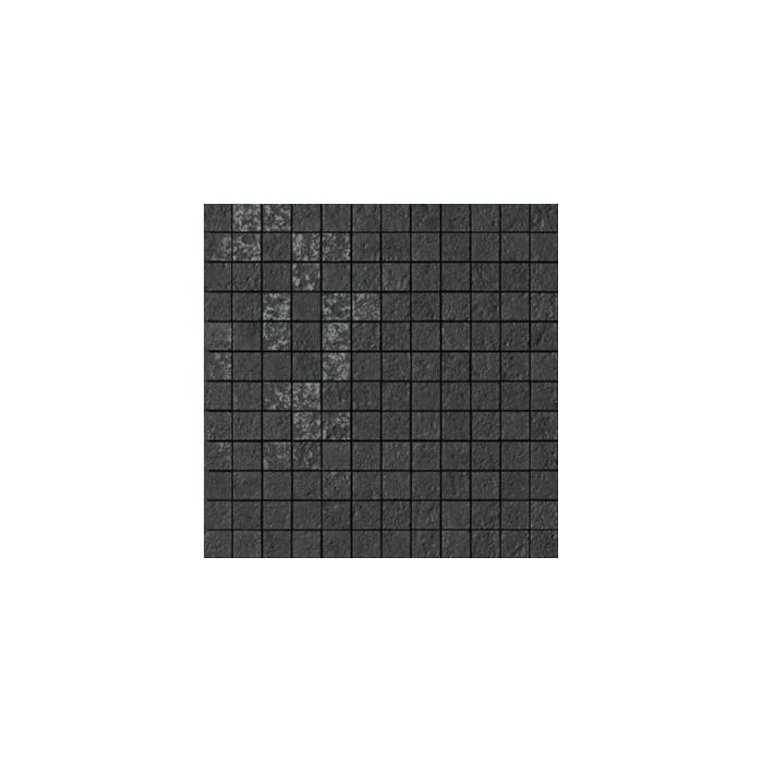 Текстура плитки Palace Stone Mos. 144 Mod. Black 39.4x39.4