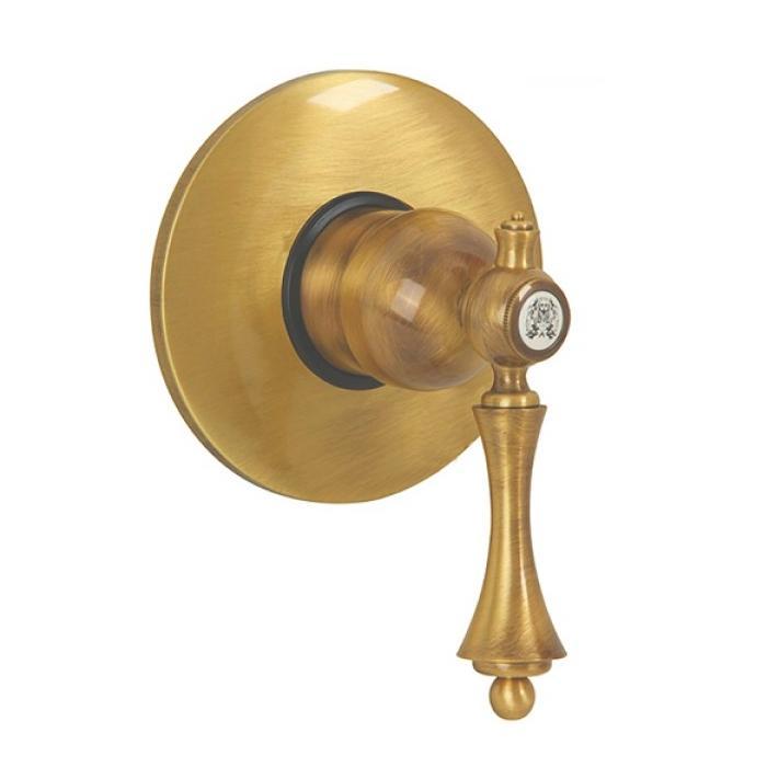 Фото сантехники Bomond Смеситель для душа монокомандный скрытого монтажа, цвет золото/ML.BMD-9730.DO