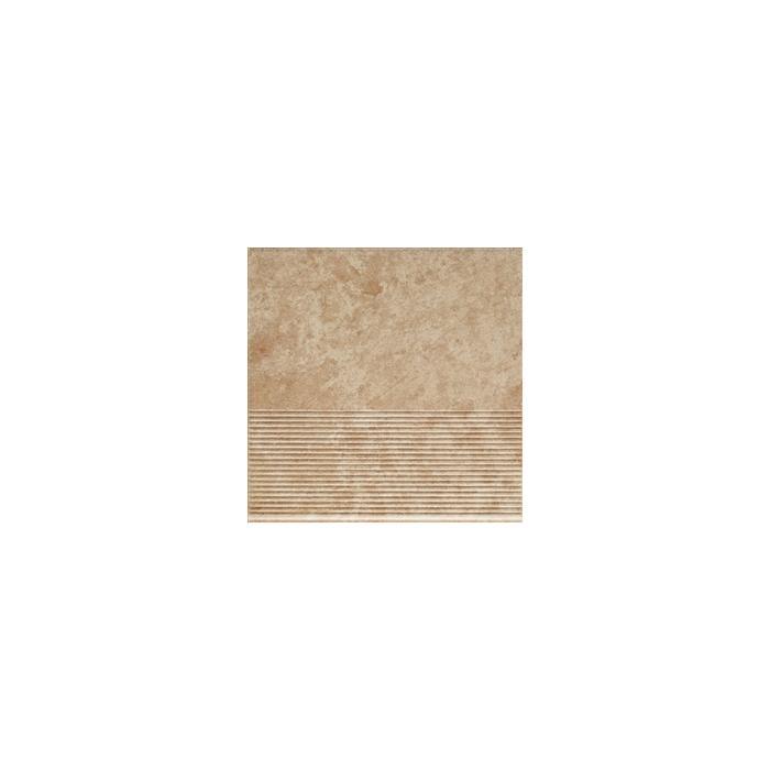 Текстура плитки Ilario Beige Stopnica 30x30