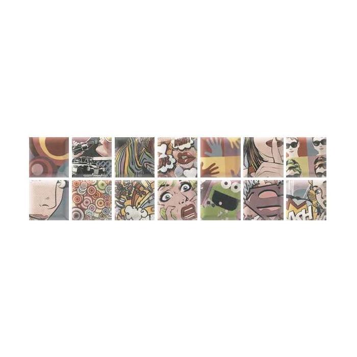 Текстура плитки Decor York 15x15