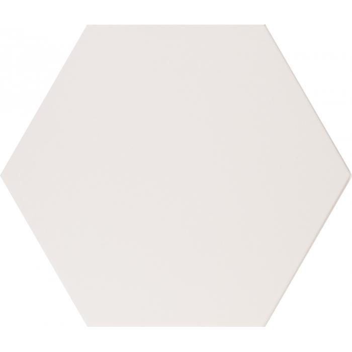 Текстура плитки Alchimia Esagono Bianco 26.6x23