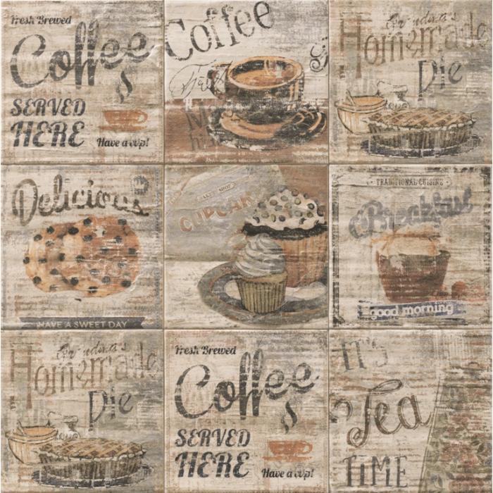 Текстура плитки Art Breakfast 20x20