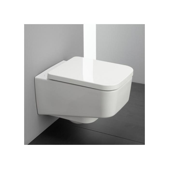 Фото сантехники Pro S Унитаз подвесной с глубоким смыванием, цвет белый