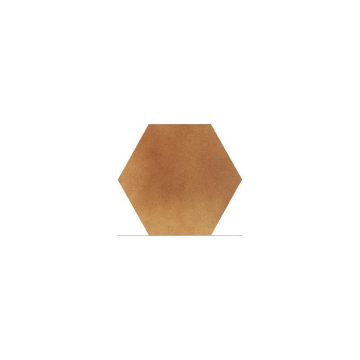 Текстура плитки Aquarius Brown Heksagon 26x26